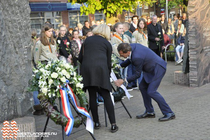 Nationale herdenking op 4 mei in 's-Gravenzande https://t.co/rEfxS1tmAi https://t.co/xongiyFLjb
