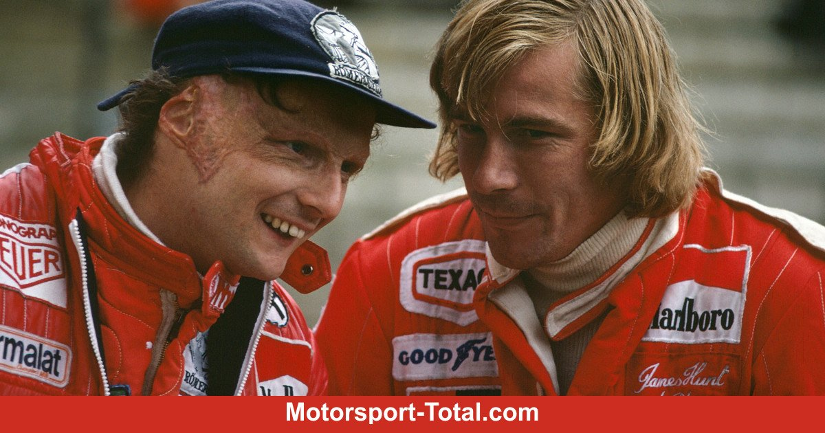 'Niki Lauda war genauso schlimm wie James Hunt!'', sagt @LewisHamilton #F1 #Rush https://t.co/6ZMNwtYyD5 https://t.co/mFxLwKAMjL