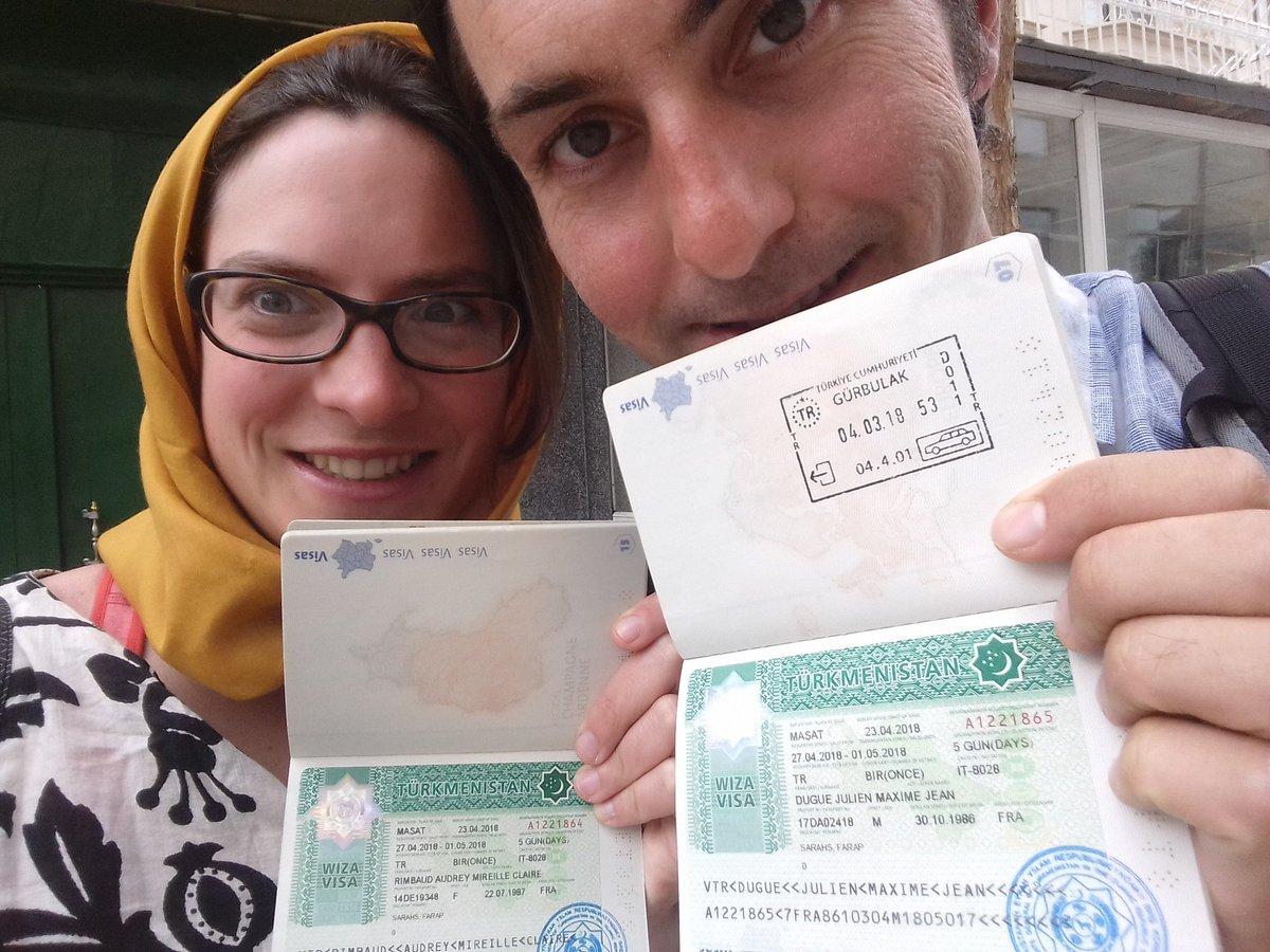 Turkmenistan visa : we get it ! / Visa turkmène : on l'a !