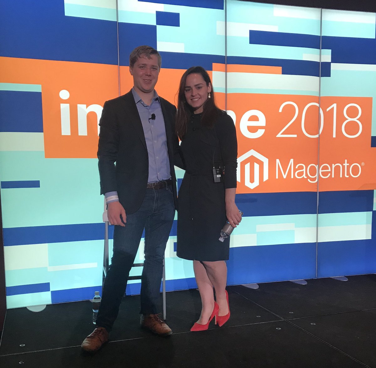 hkmiddle: Magento U presents Magento Business Intelligence - the experts, Leah and Nate! #roadtoimagine #imagine2018 @magento https://t.co/ii1RW9r9Z2