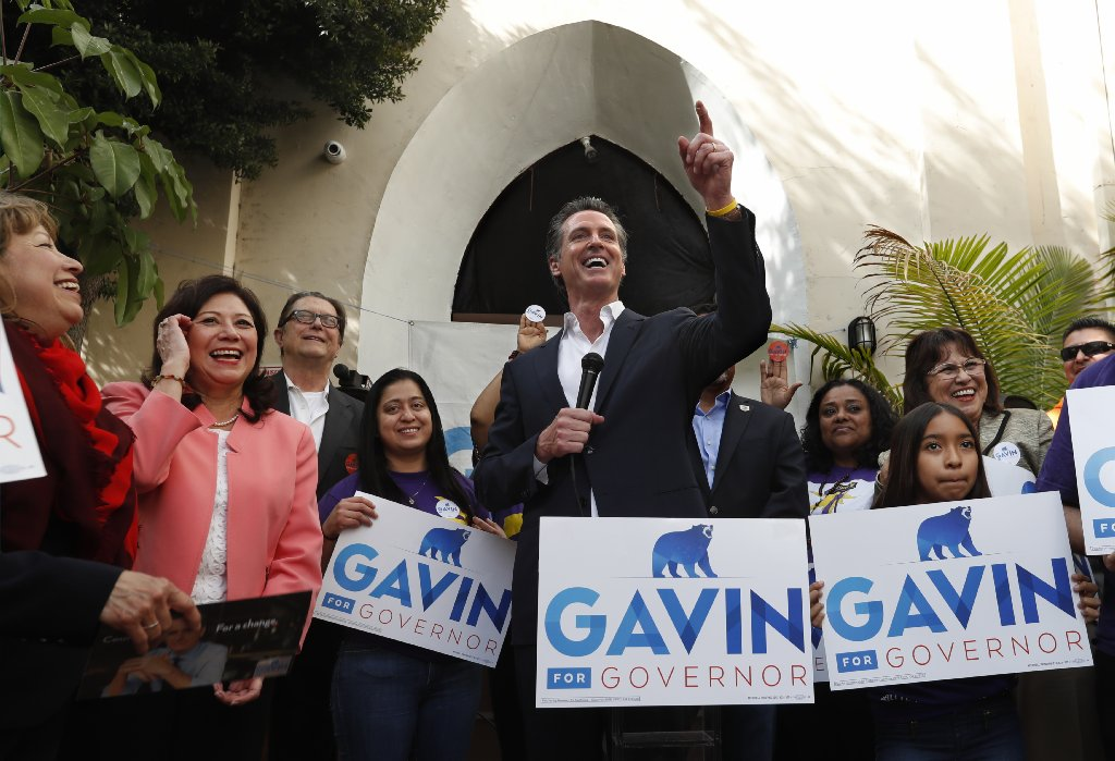 Newsom highlights liberal bona fides in his first ad in the governor's race https://t.co/0hX0MbwsHP https://t.co/fAwvsdJe7s