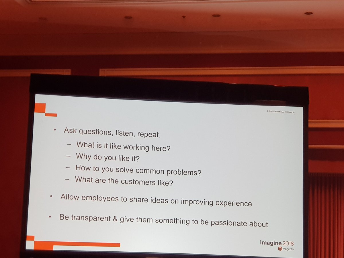 MIdreesButt: How would your employees respond to these questions?nn#MagentoImagine https://t.co/iSgcdYlcoW
