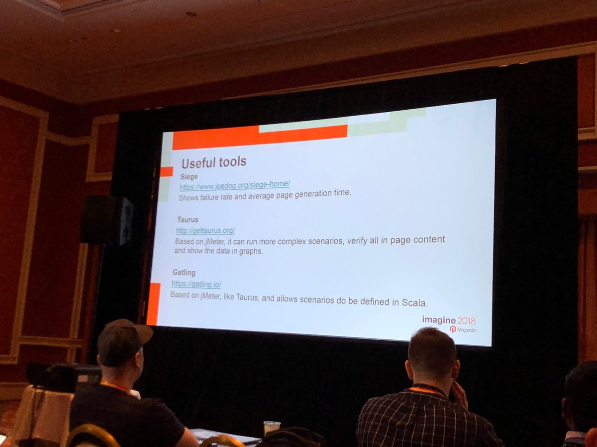 billygilbert: Useful tools from @renatocason for benchmarking #Magento sites at #MagentoImagine. Siege, Taurus and Gatling https://t.co/Jh3OxN9xGh