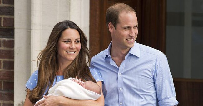 Is this proof we'll see Kate Middleton and her new baby boy today?