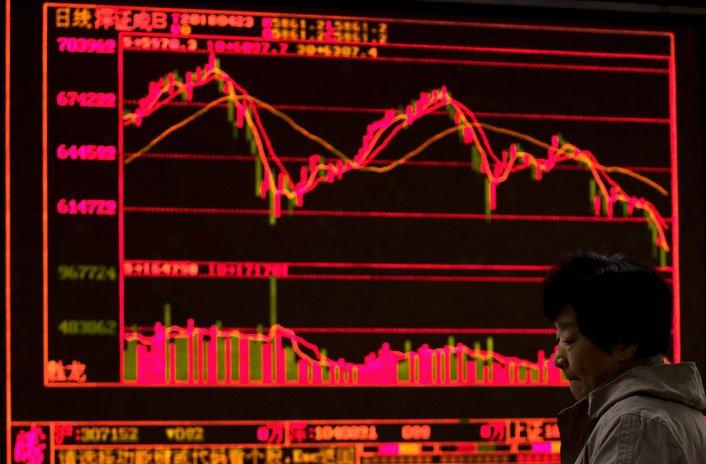 @BroadcastImagem: Bolsas asiáticas fecham em baixa, novamente pressionadas por ações de tecnologia. Andy Wong/AP