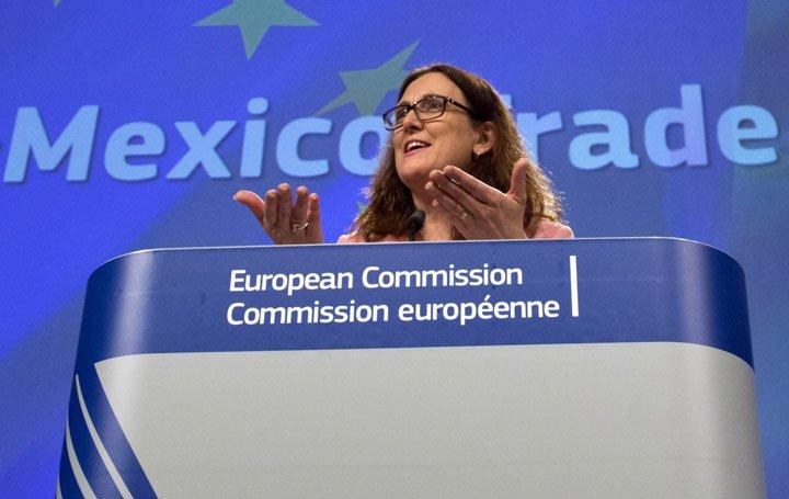 @BroadcastImagem: Acordo entre México e UE são