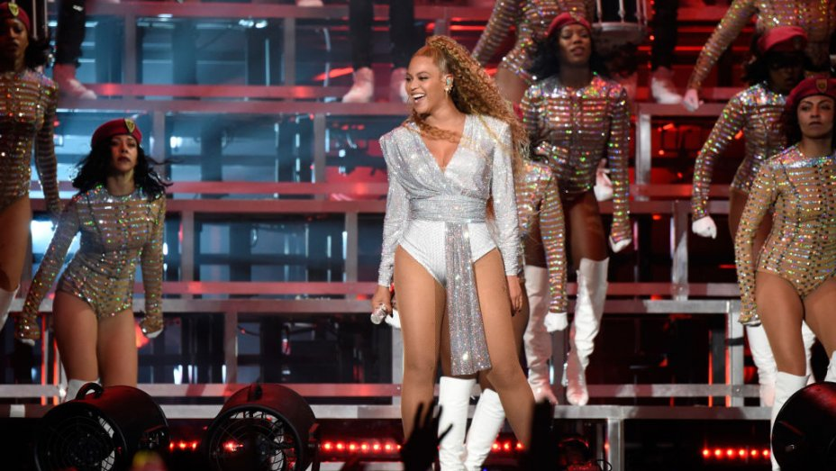 Beyonce embraced a whole new look for Coachella weekend 2