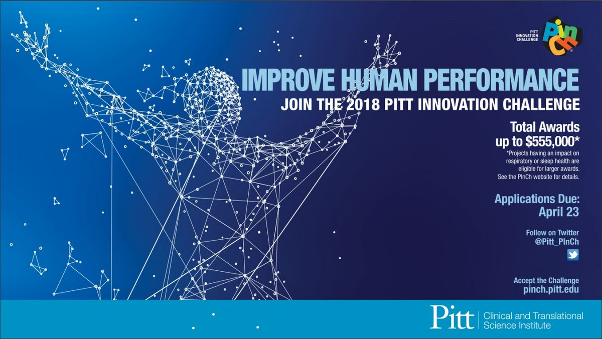 Your submissions for the @Pitt_PInCh competition are due today by 5 pm! Apply here ➡️ https://t.co/YdGT8QSgST https://t.co/Rf7vQH8ZOP