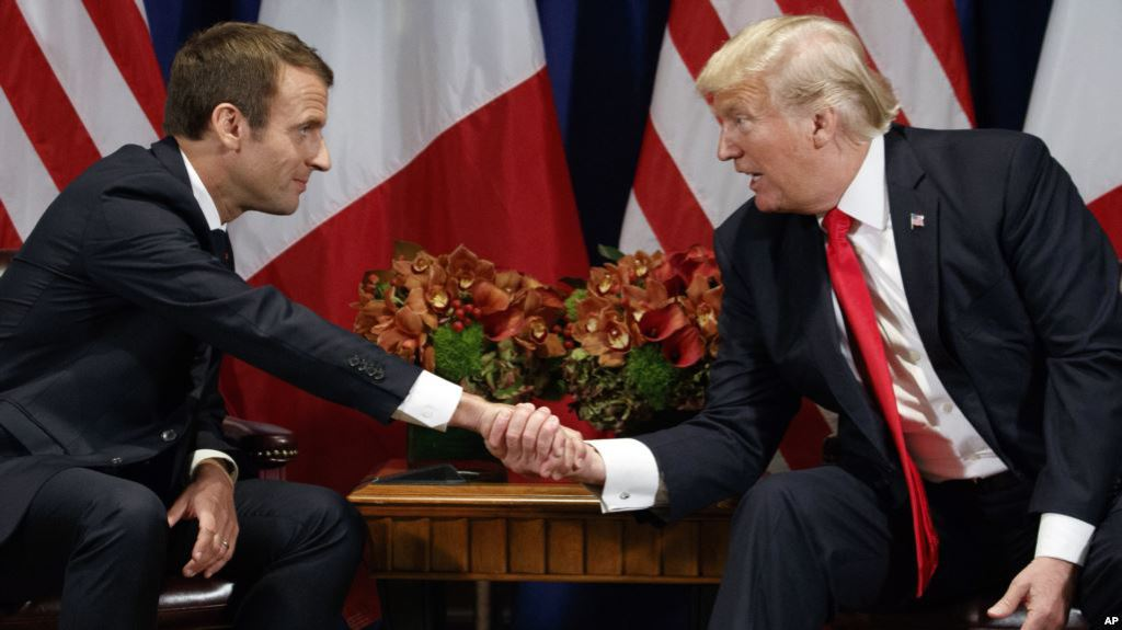 test Twitter Media - Irán y comercio ponen a prueba la relación Trump-Macron https://t.co/ES1cmeDLIc https://t.co/kdsxzG0uIZ