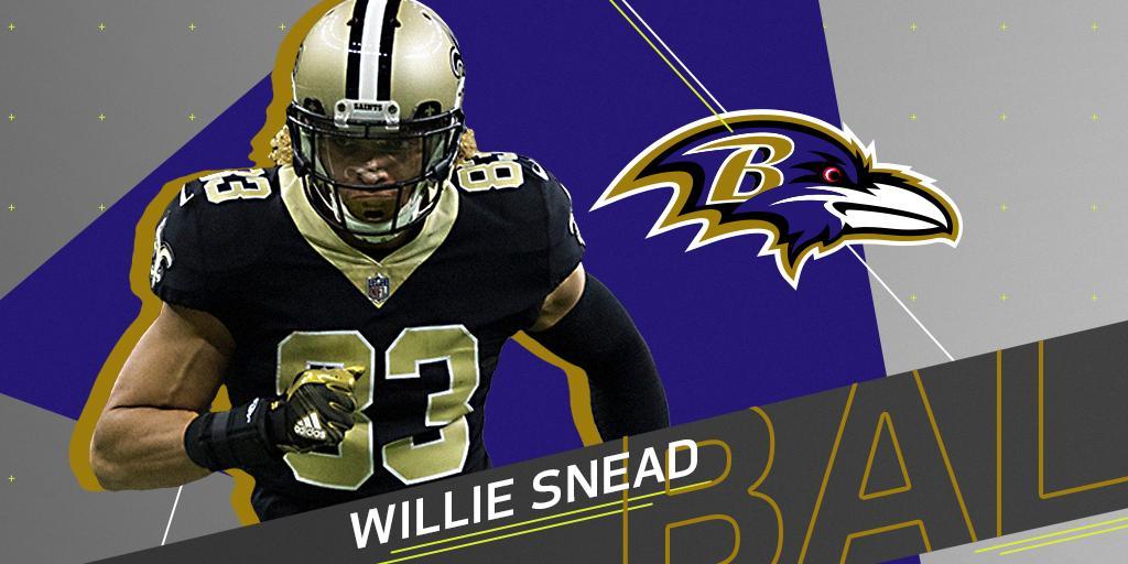 Saints decline to offer @Ravens' offer sheet for @Willie_Snead4G: https://t.co/H1iApZyxwP (via @RapSheet) https://t.co/hqFePG8eqH
