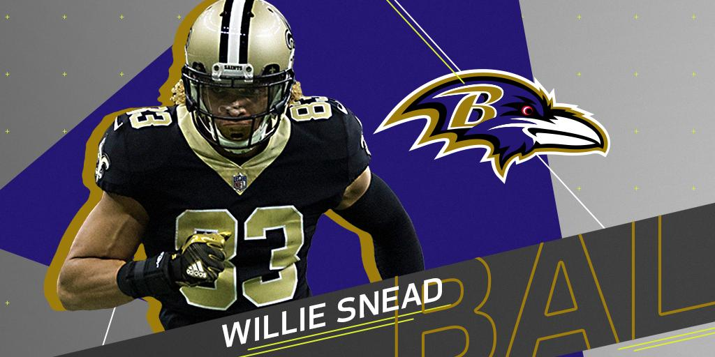 Saints decline to match @Ravens' offer sheet for @Willie_Snead4G: https://t.co/8eUm5gQI7Z (via @RapSheet) https://t.co/cVynXSIuj5