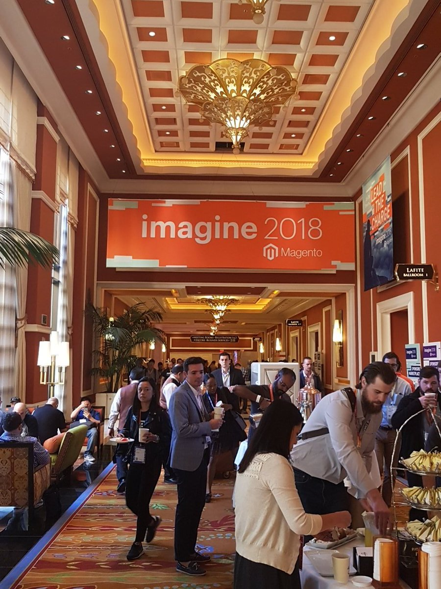 D_n_D: [Magento Imagine] Let's go for #MagentoImagine! As always Dn'D is present! #MagentoImagine2018 #Imagine2018 #Magento https://t.co/3eT1QH6DMT