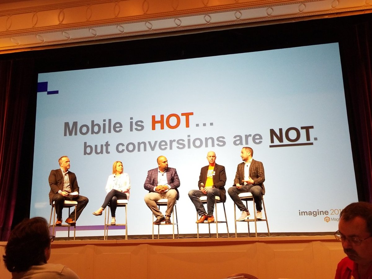andrewfiggins: Speed is the name of the game for increasing mobile conversion #MagentoImagine https://t.co/yrbnm6xMOp