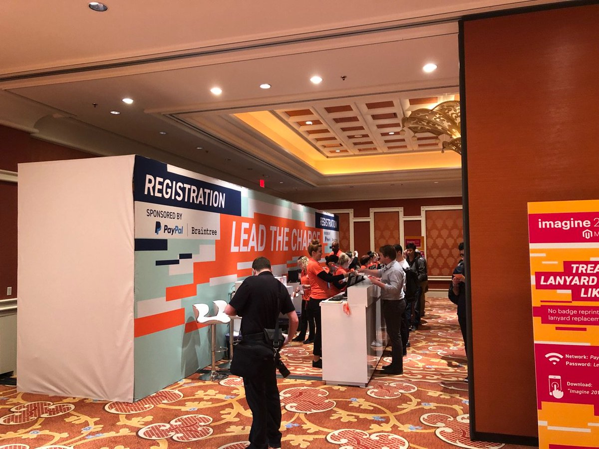 meetmagento: Good Morning #MagentoImagine! We're looking forward to an amazing day - have fun everyone! https://t.co/pvGkJxzFFc