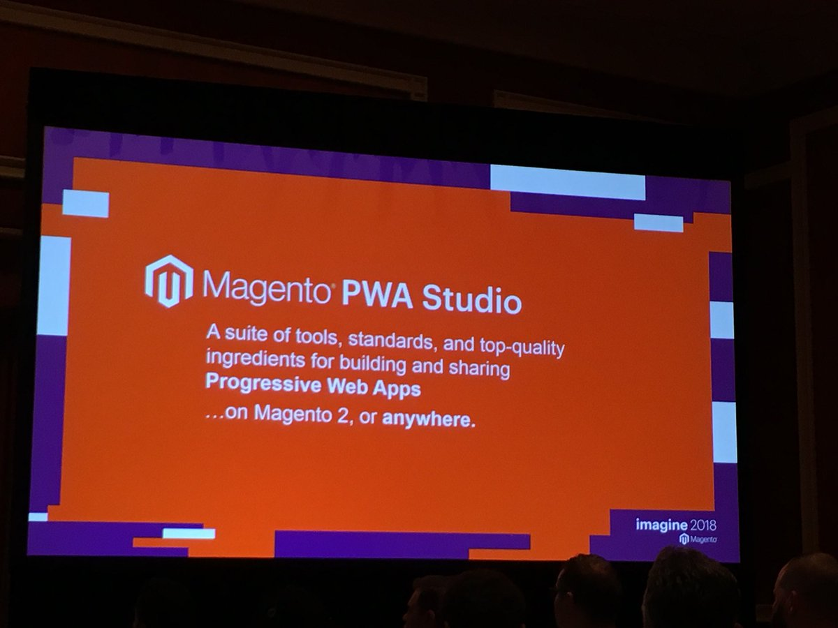 summasolutions: Magento presents PWA Studio at Magento Imagine 2018! #magentoimagine #MagentoImagine2018 https://t.co/IKAQTAhv81