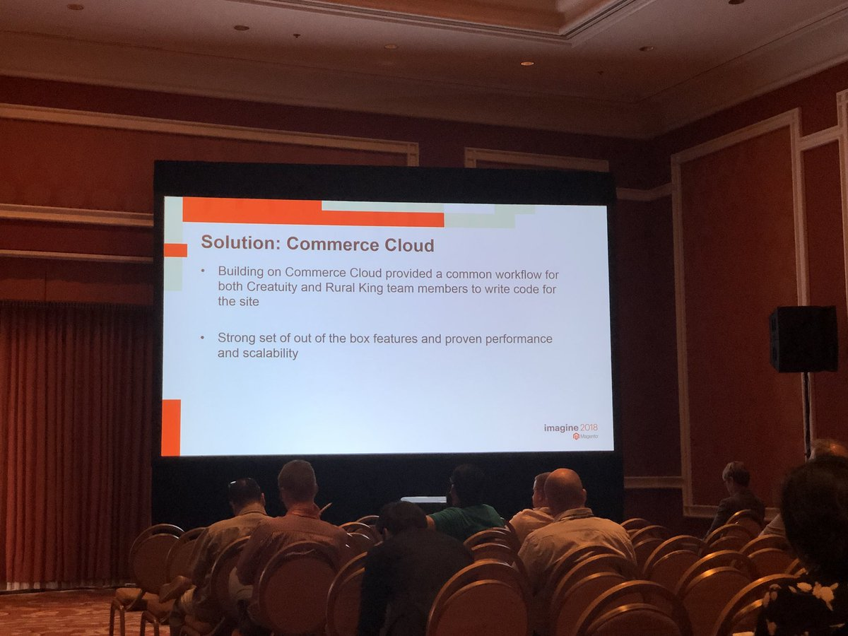 billygilbert: Listening to @JoshuaSWarren talk Rural King and their awesome cloud project! #MagentoImagine https://t.co/xgkFhrIIEa
