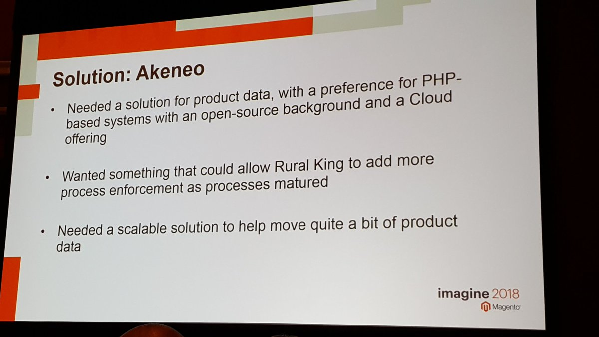 akeneopim: How @creatuity addressed the need for better product information at Rural King #MagentoImagine #pim https://t.co/3LnyD3jWQM