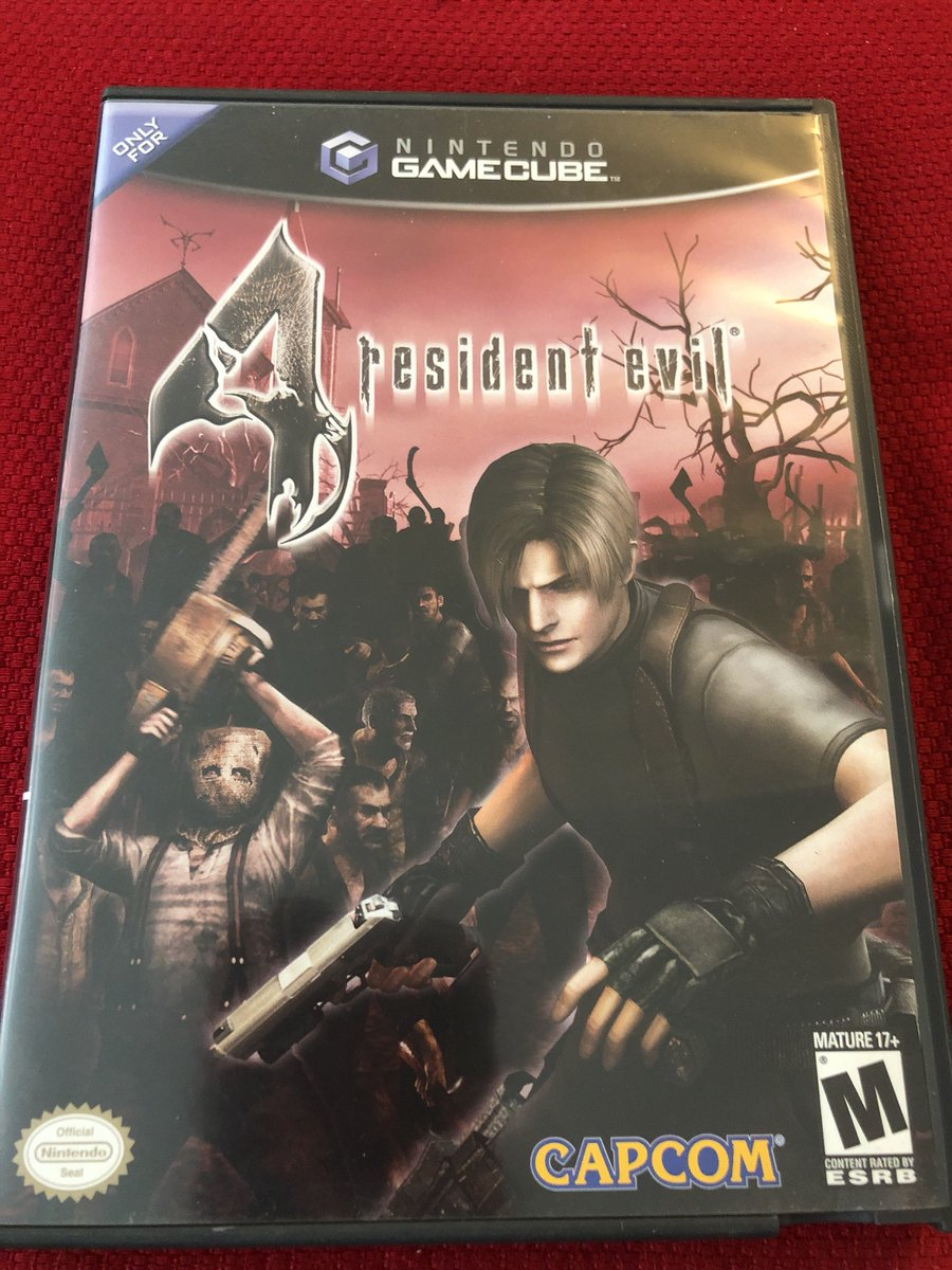 RT @esperdreams: #MondayCubed is some Resident Evil 4 https://t.co/cIIAG3L8zF