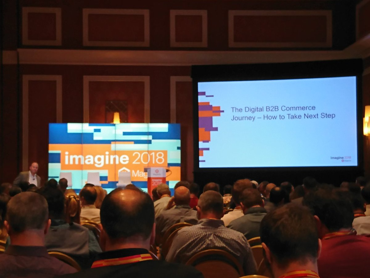 richbaik: B2B session about to start in LaTour. @magento #MagentoImagine https://t.co/eUjKd6uPgA