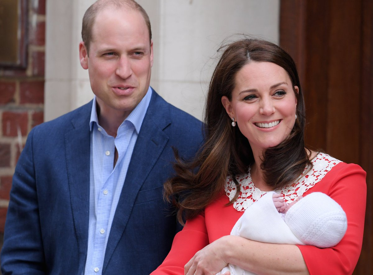 See The First Photos Of Kate Middleton And Prince William's New Son