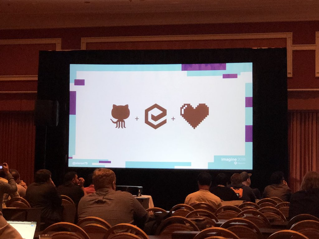 billygilbert: LOVE this picture. Expresses the community perfectly. #MagentoImagine https://t.co/ffvzDbEFAP