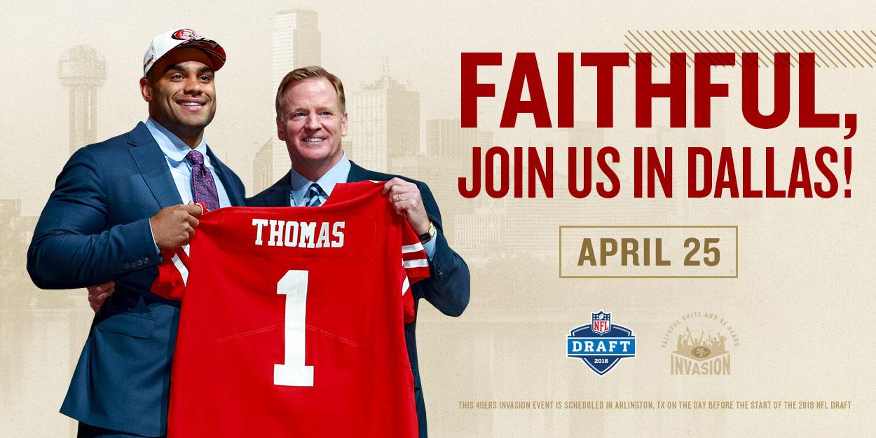 It's #NFLDraft week! Join us in Dallas on Wednesday night for a free event.  Details: https://t.co/Ga2LRy7cew https://t.co/tHXp3nsTy6