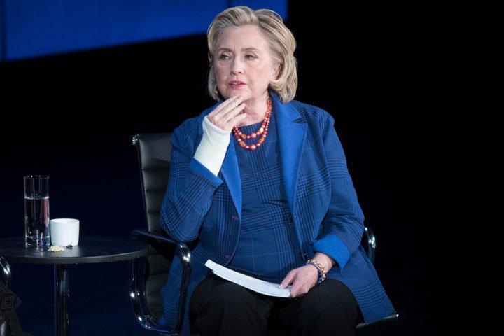 @BroadcastImagem: Para Hillary, imprensa está 'sob ataque' no governo Trump. Mary Altaffer/AP