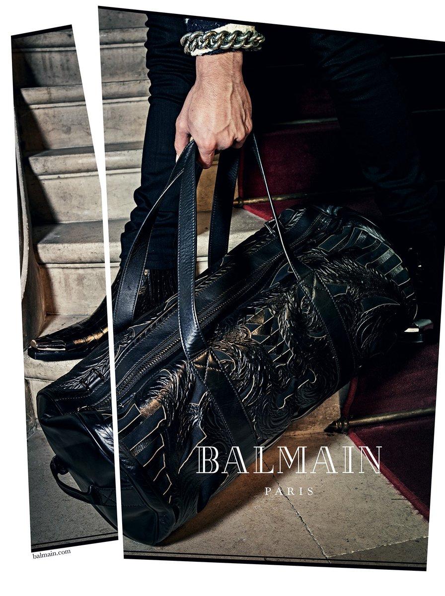 BAGS BAGS BAGS, Men's #BALMAINSS18 bags available now at: https://t.co/4CE9Meudgw https://t.co/umbzwGSqbT