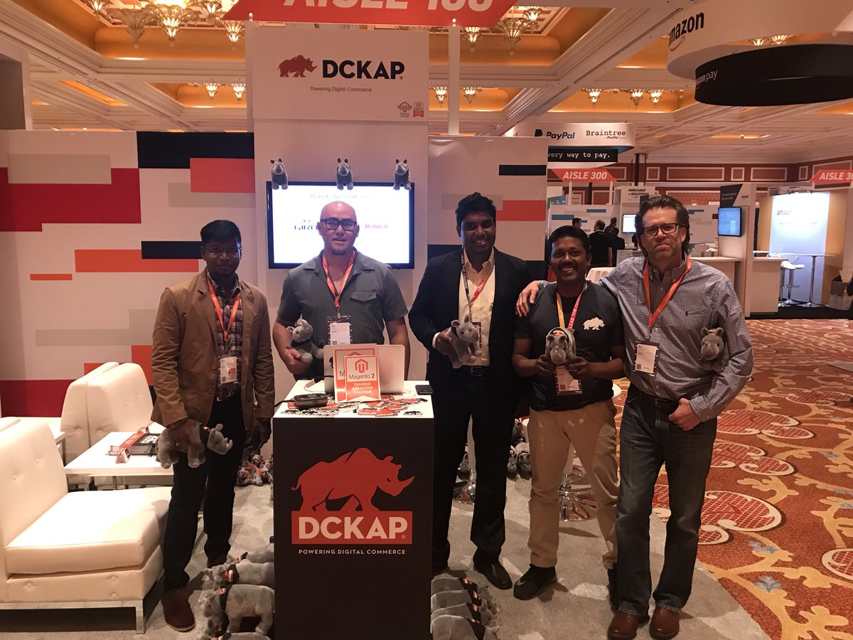 DCKAP: Come Say Hello to @DCKAP Team at Aisle 100. #MagentoImagine https://t.co/m0AipaOOZ7