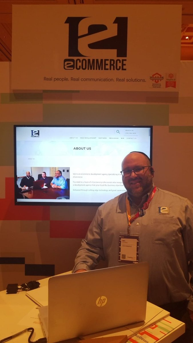 121ecommerceLLC: Come visit us at booth #34 #MagentoImagine https://t.co/pfpRlkV66w