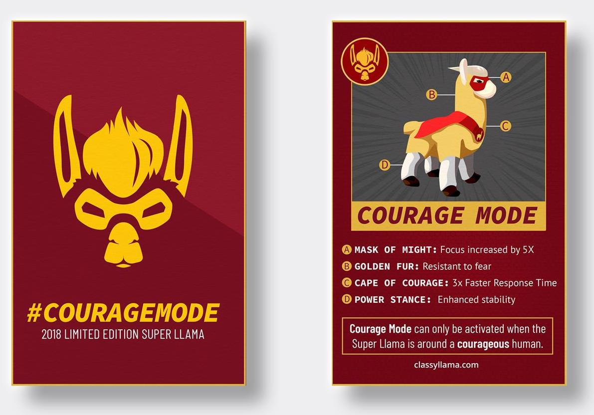 classyllama: The 2018 Llama is at #MagentoImagine Learn more about its #CourageMode via the llama collector card! https://t.co/8HPq9Vl02z