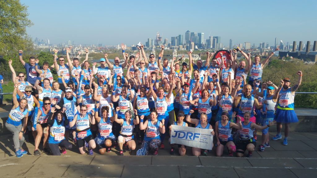 test Twitter Media - 162 participants 🚶‍♀️🚶‍♂️🏃‍♀️🏃‍♂️ 324 legs and feet 👣 4,244.4 miles combined 🔁 1⃣ amazing team #TeamJDRF braved the ☀️to show their support for type 1 #diabetes research in a record-breaking effort at the #LondonMarathon #SpiritofLondon   https://t.co/2FOG5ZiNis https://t.co/5fnJuDqkxv
