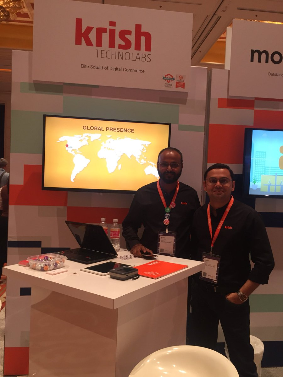 vatsalshah: Visit @krishtechnolab booth31 and meet experts and @magento Master #MagentoImagine https://t.co/Jl1rSDZ606