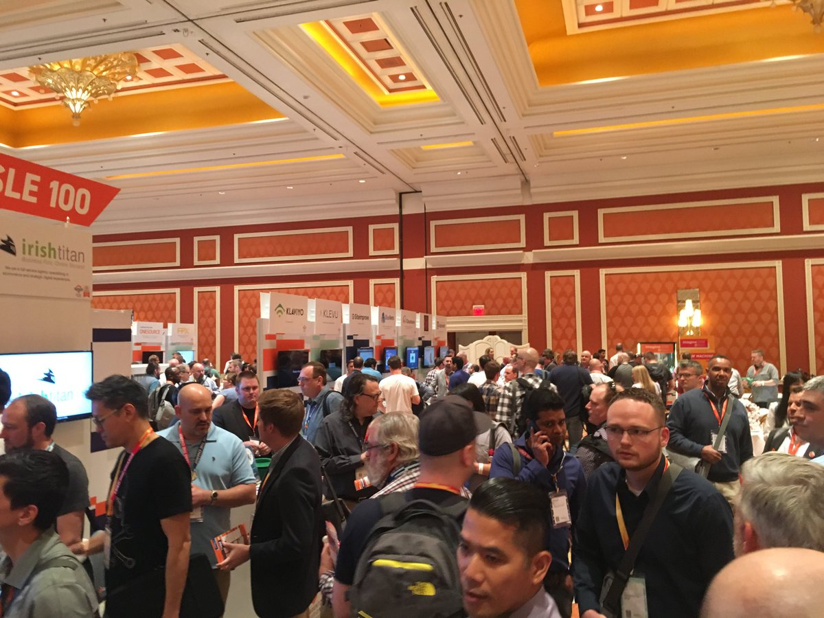 gsautereau: Busy Sponsors Marketplace #magentoimagine ! https://t.co/pWk3onUwbN