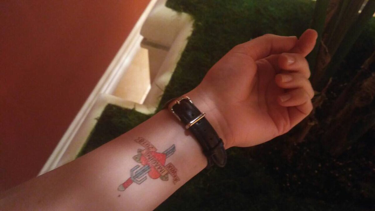 Qamadness: Thanks, @atwixcom for the great designed tattoo  n#MagentoImagine https://t.co/0xsqEi7f6v