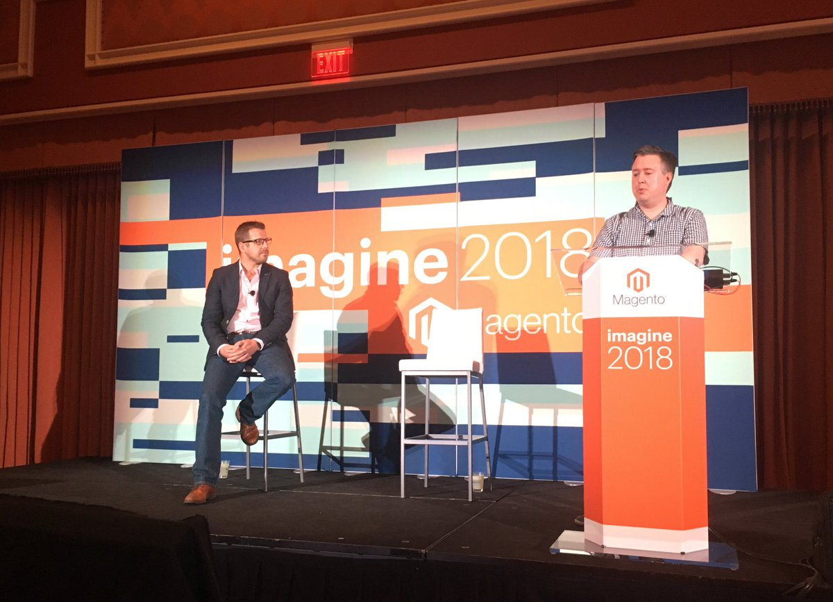 benmarks: Innovation Lab sessions start now with presentations from @Creatuity and @netstarter. #MagentoImagine https://t.co/tK93kwcFpd