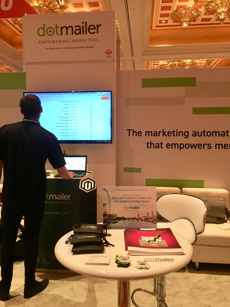 dotmailer: Stop by our booth #513 at #MagentoImagine for your chance to win a trip for 2 to London! https://t.co/J5AnejmhNi