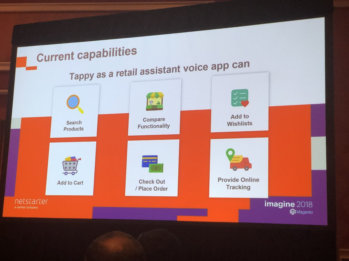 alexanderdamm: 6 Use Cases how #Voice can optimize customer experience in digital commerce #magento #MagentoImagine https://t.co/VU5ptY3jTv