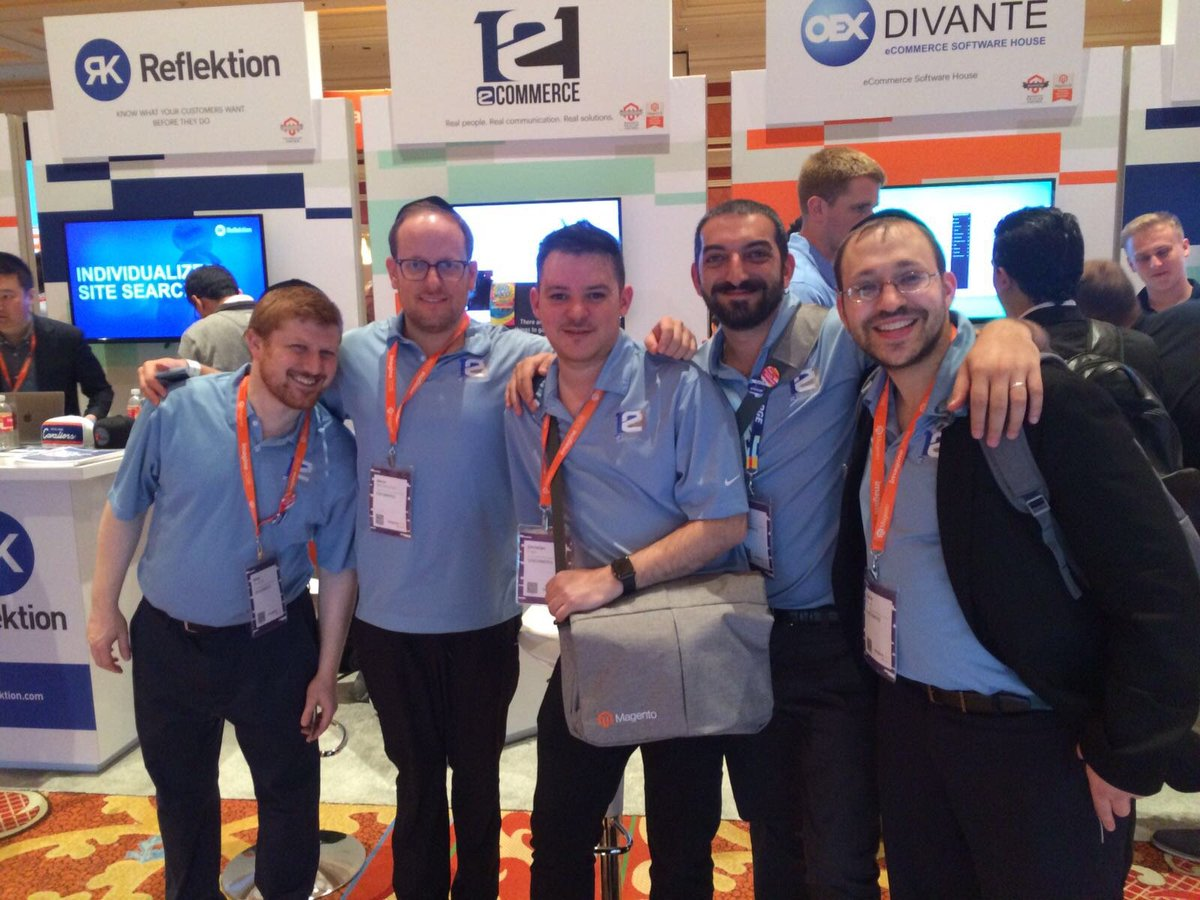 121ecommerceLLC: Our team at #MagentoImagine https://t.co/0NubgsILqF