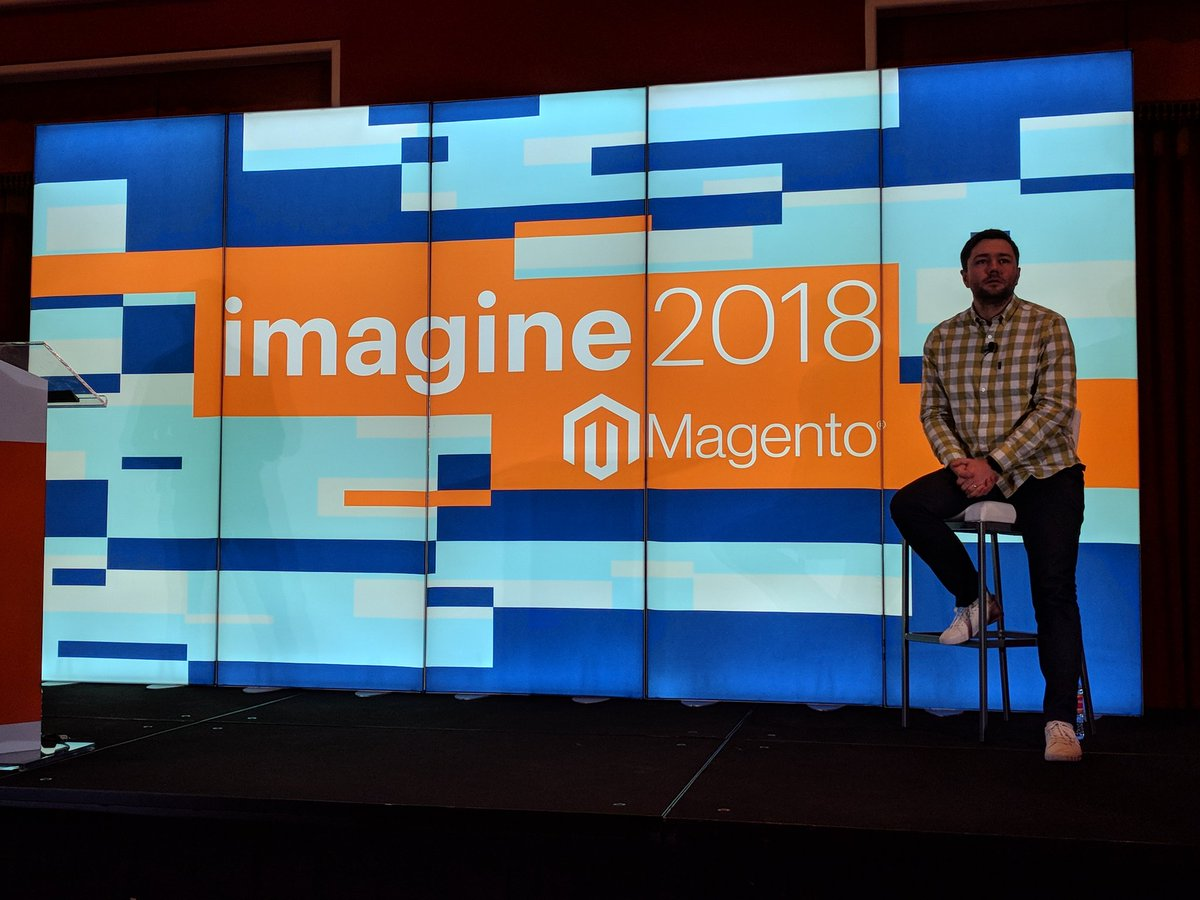 fe_lix_: @iminyaylo on stage about to talk about #msi at #MagentoImagine https://t.co/UYsmBqNICd