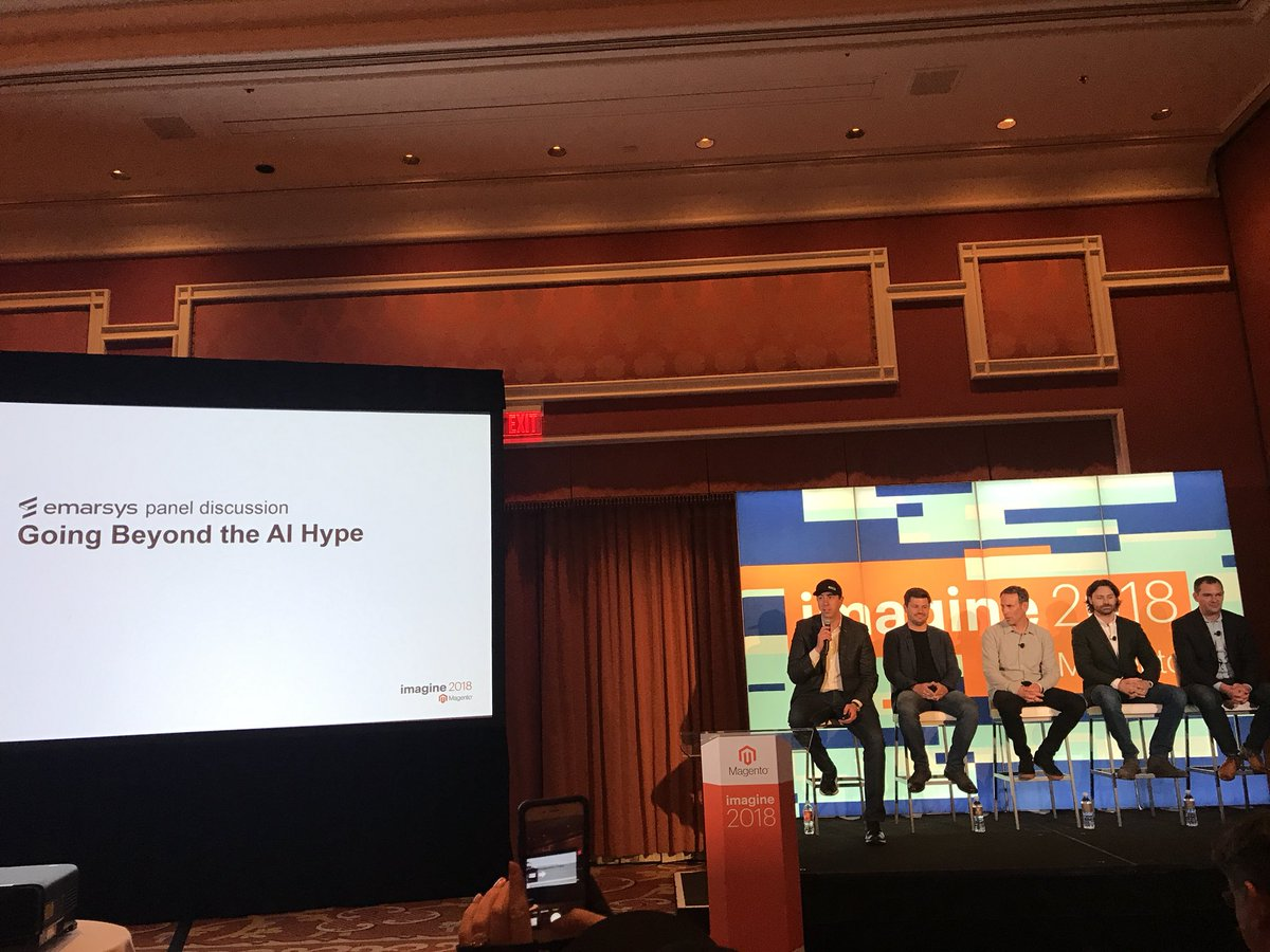 knowj: Going beyond the AI Hype at #MagentoImagine https://t.co/hz5W0OOOTp