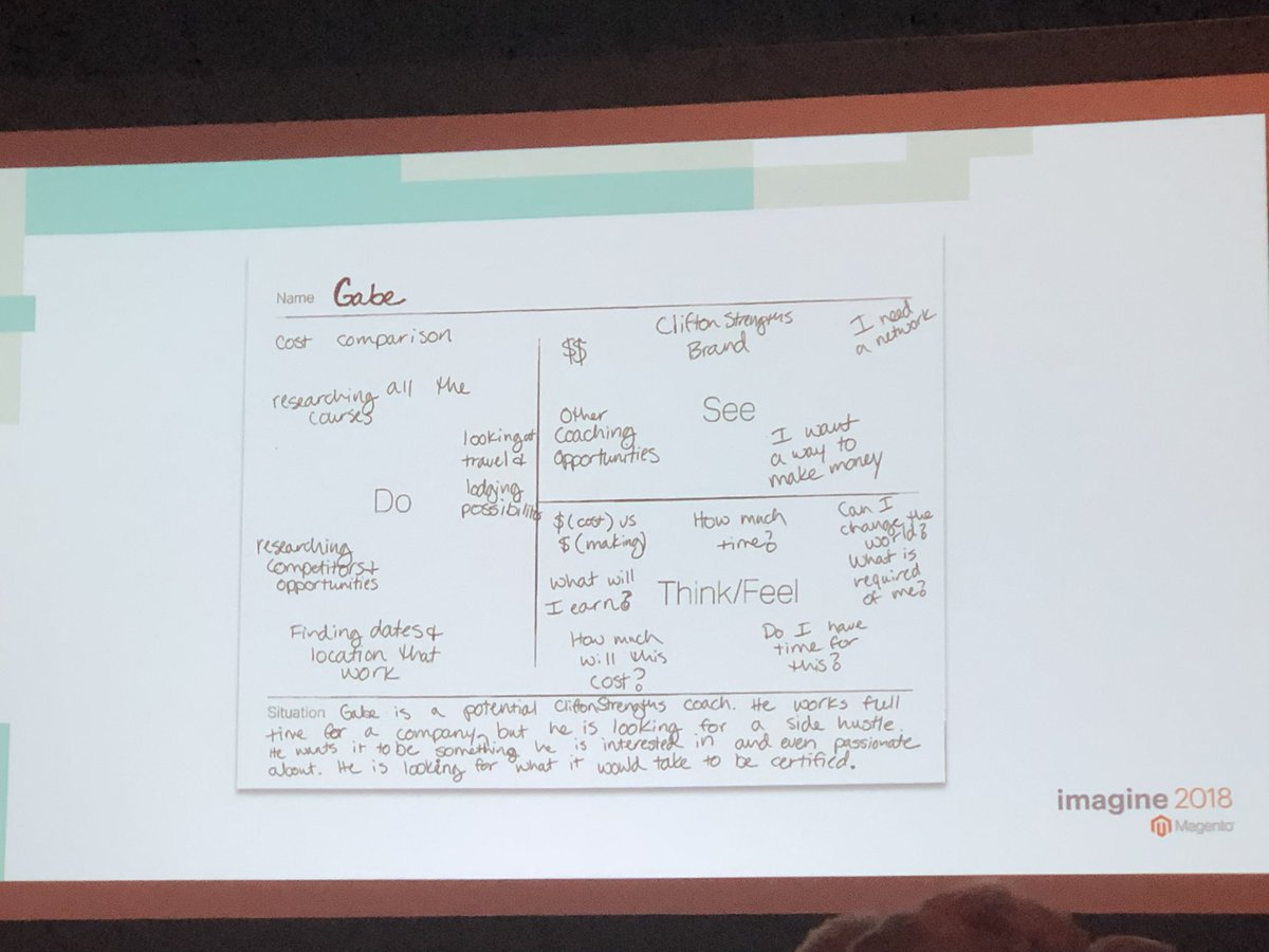 alexanderdamm: Visualizing user attitudes and behavior using empathy mapping method #UX #MagentoImagine https://t.co/Ne1eCxeELE