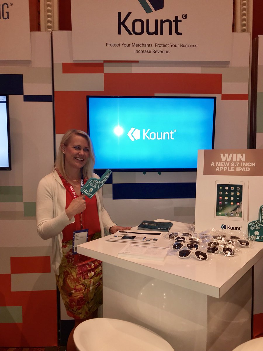 KountInc: Stop by Booth 74 at #MagentoImagine to talk fraud and enter to win an Apple iPad! https://t.co/HuXMvAqaUm