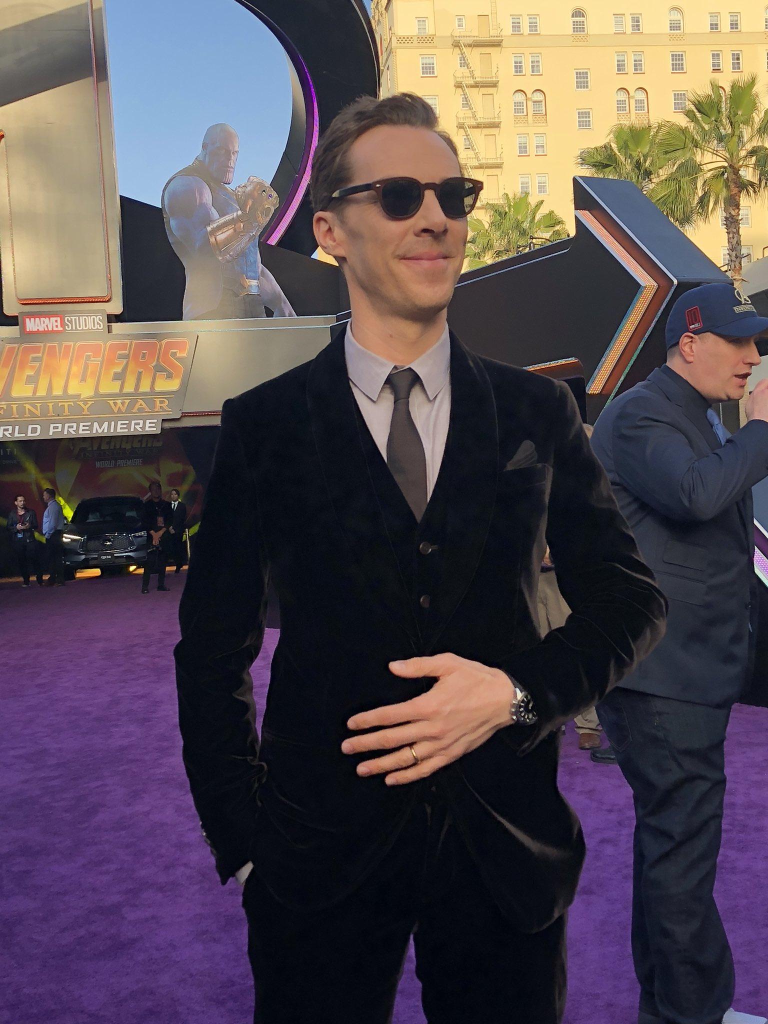 Benedict Cumberbatch - Doctor Strange himself - is always a good time! #InfinityWar https://t.co/gCyVf7trDu