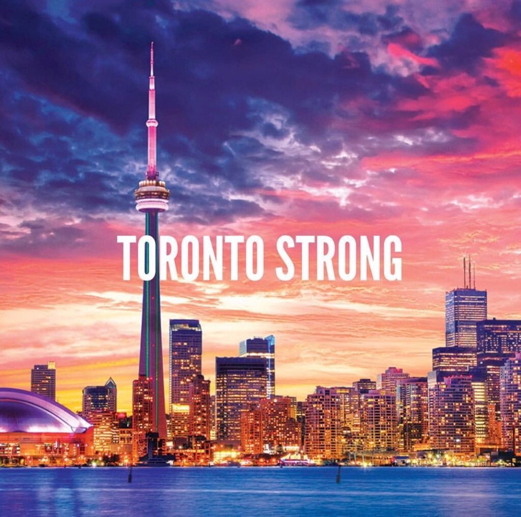 Sending my love to the people of Toronto and all those affected ❤️ https://t.co/sJW1D7Mr3F