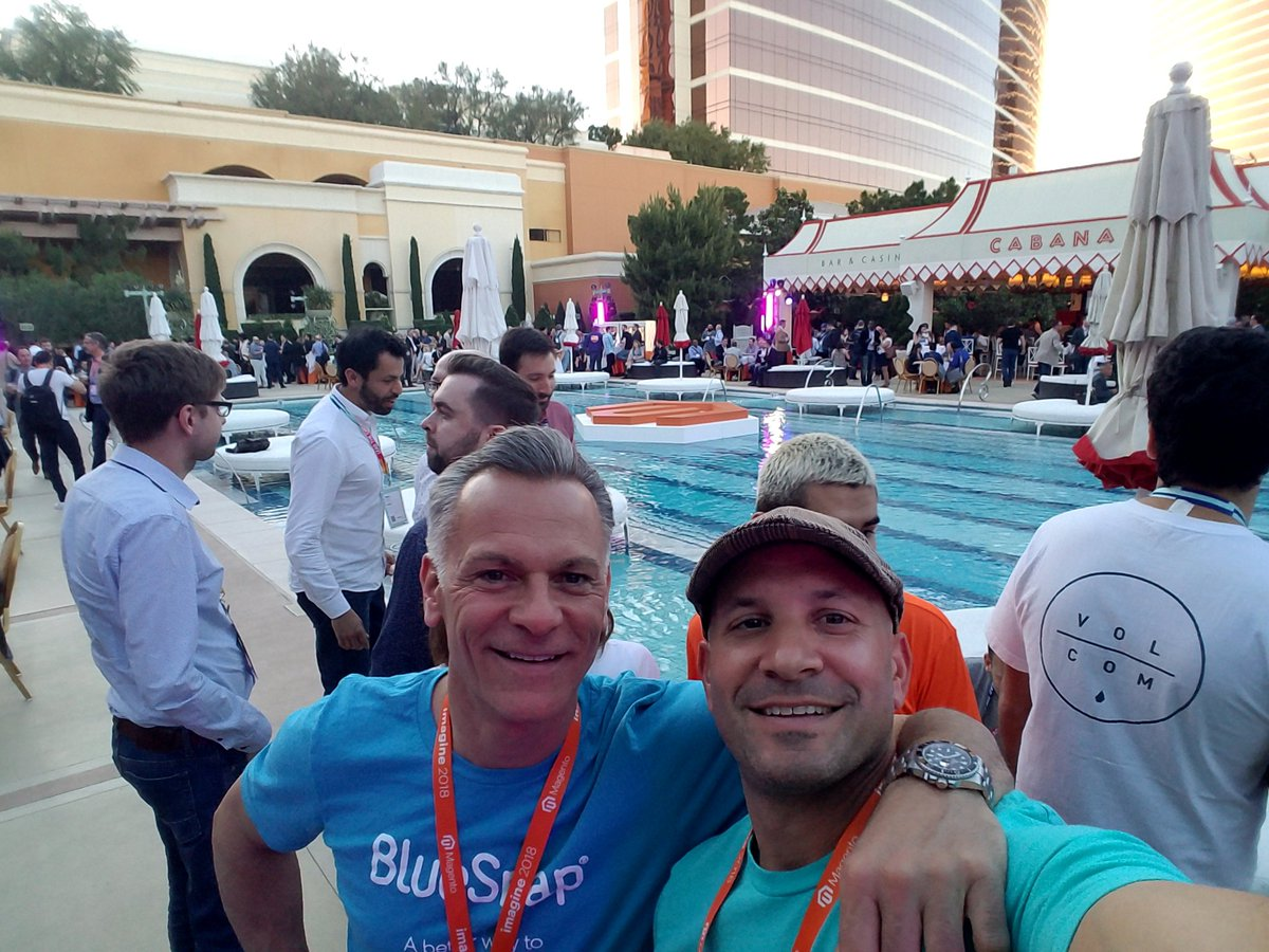 JoeTBuyNow: .@BlueSnapInc #MagentoImagine party time #ABetterWay https://t.co/SWiwqU5ESG