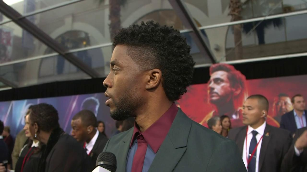 #BlackPanther star Chadwick Boseman loves Groot just as much as the rest of us https://t.co/dHMagOpRAk https://t.co/ANi36SVTiP