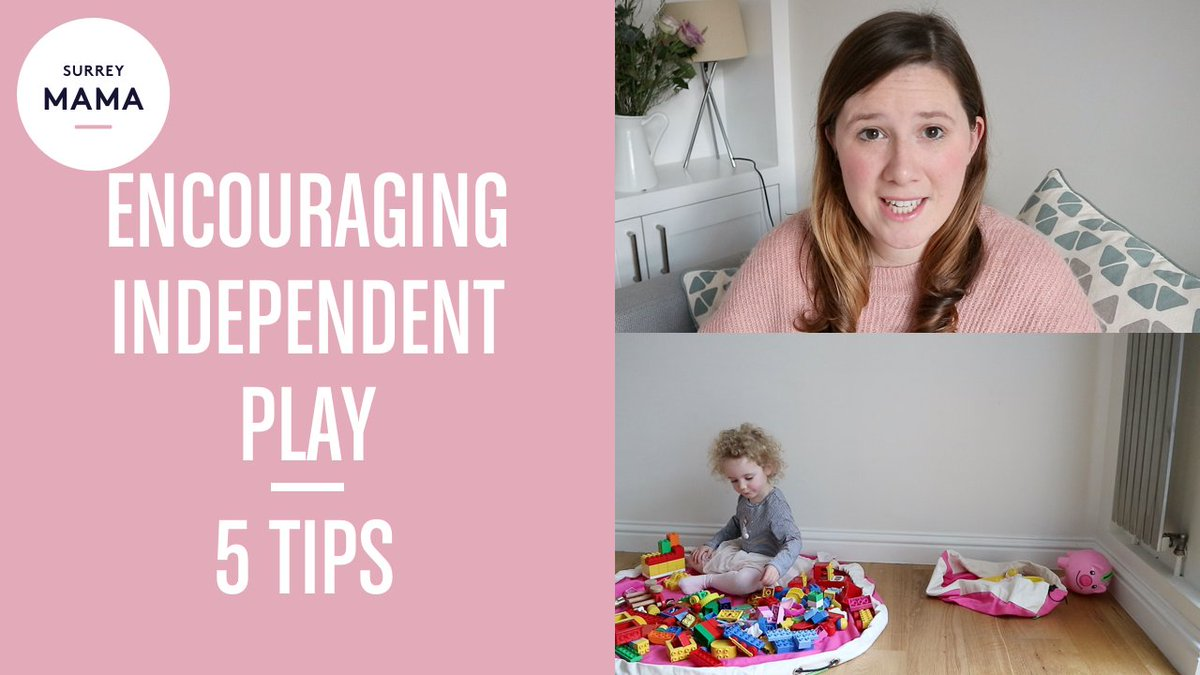 How I encourage independent play with my toddler, my top 5 tips https://t.co/nldfQv64Fq #mummyvlogger #mummyblogger https://t.co/2F4mO6wySb