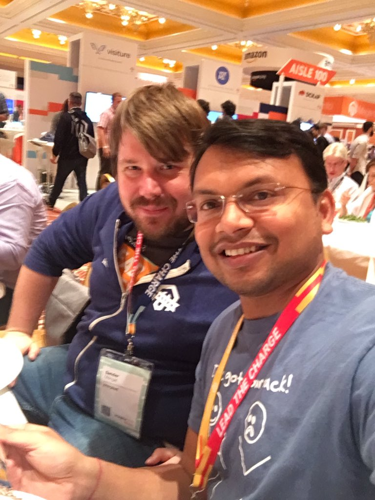 kalpmehta: with @sandermangel #MagentoImagine https://t.co/JywRmCB9FG
