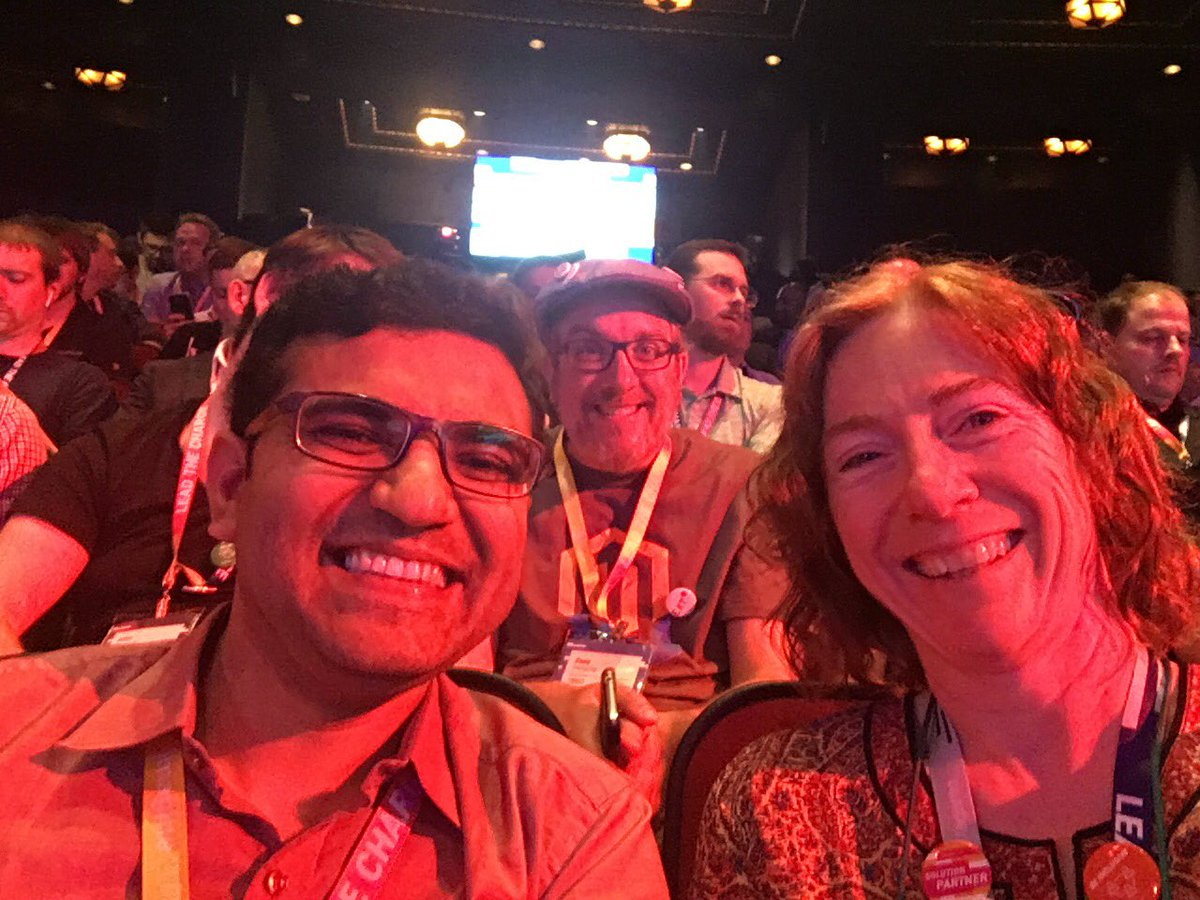 susanwagento: Ready for the #keynote at #MagentoImagine @Vijaygolani @jissereitsma https://t.co/rW0lxIOKsu